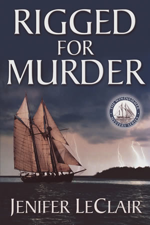 Rigged For Murder (Windjammer Mysteries, Book 1)